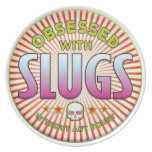 Slugs Obsessed R Party Plate