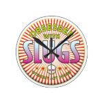 Slugs Obsessed R Wall Clock