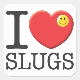 Slugs Square Sticker