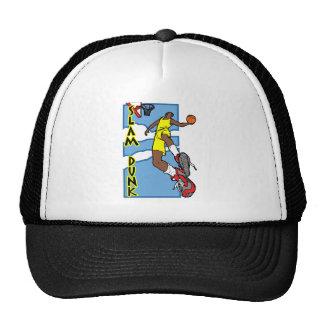 Slum dunk trucker hat