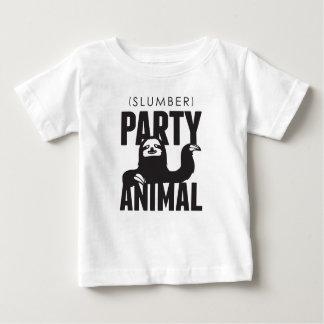 Slumber Party Animal Baby T-Shirt