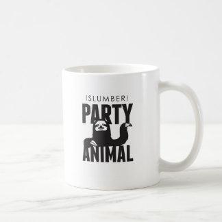 Slumber Party Animal Coffee Mug