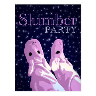 slumber party invitations : nightshine