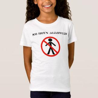 Slumber Party No Boys Allowed T-Shirt