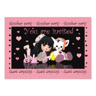 Slumber Party - Sleep Over - Invitation