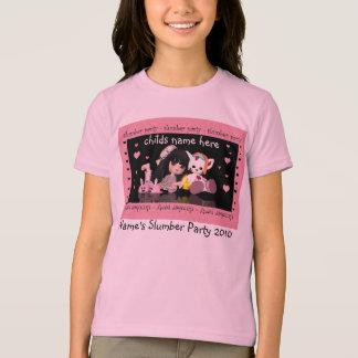 Slumber Party T Shirt For Girls
