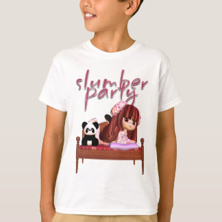 Slumber Party T Shirt To Match Invitations