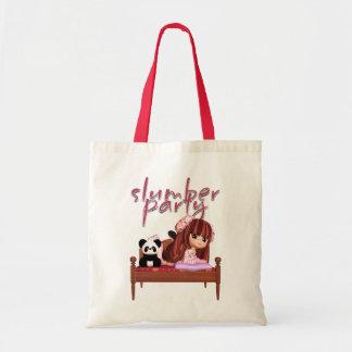 Slumber Party Tote Bag, Make Ideal Gift Bag