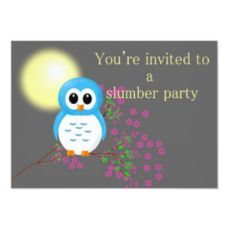 Slumber Party with Night Owl Card