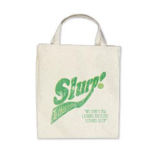 ¡Slurp! Abone el bolso de la soda con cal Bolsa De Mano