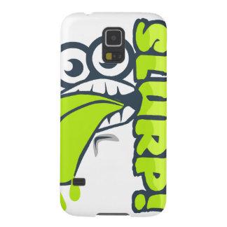Slurp - Just a cartoon face slurping - Playful Case For Galaxy S5