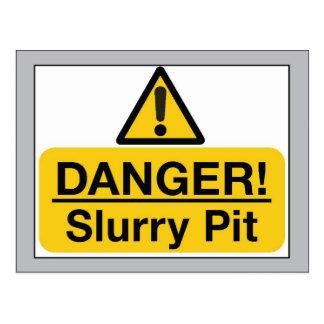 slurry pit postcard