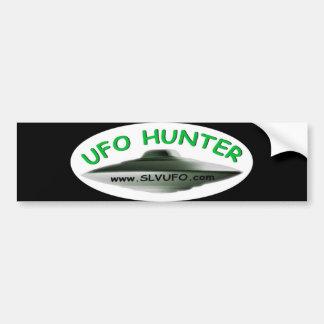 SLV UFO Hunter Bumper Sticker Car Bumper Sticker