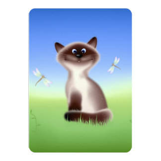 Sly Cat Card