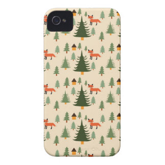 Sly Fox in the Woods iPhone 4 Cover