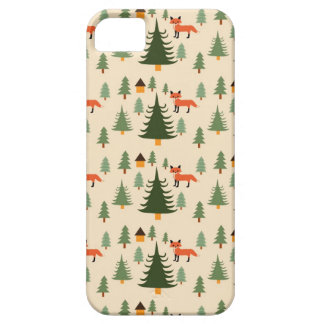 Sly Fox in the Woods iPhone SE/5/5s Case