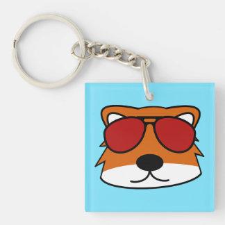 Sly Fox Keychain