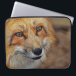 "Sly Fox Laptop Sleeve<br><div class=""desc"">Sly red fox,  but a cutie</div>"