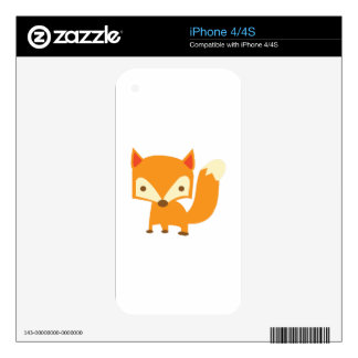 Sly Fox iPhone 4 Decal
