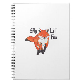 SLY LIL FOX NOTE BOOKS