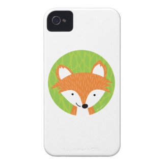 Sly Little Fox- Woodland Friends iPhone 4 Case