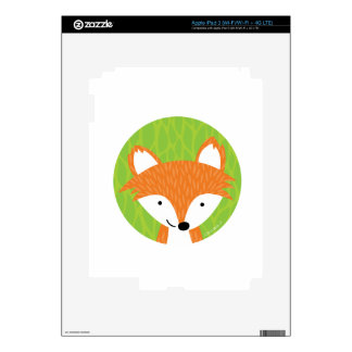 Sly Little Fox- Woodland Friends Skins For iPad 3