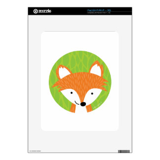 Sly Little Fox- Woodland Friends Skins For The iPad