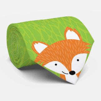 Sly Little Fox- Woodland Friends Tie