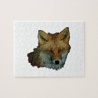 Sly Little One Jigsaw Puzzle