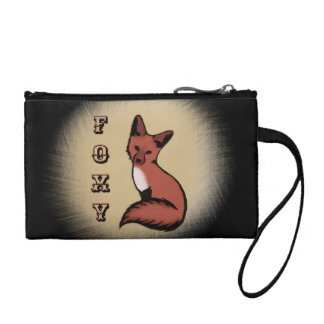 Sly Red Foxy Fox Coin Wallet