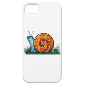 Sly Snail in Garden Grass iPhone 5 Case