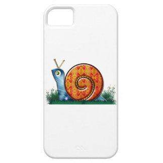 Sly Snail in Garden Grass iPhone SE/5/5s Case