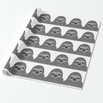Sly The Sloth Wrapping Paper