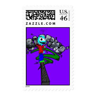 Slyk Skater Stamp