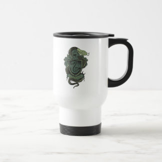 SLYTHERIN™ Crest 15 Oz Stainless Steel Travel Mug