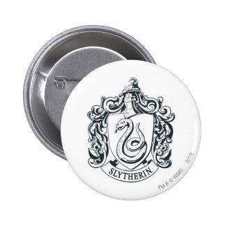 Slytherin Crest 2 Inch Round Button