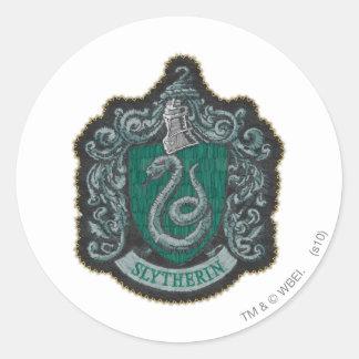Slytherin Crest Classic Round Sticker