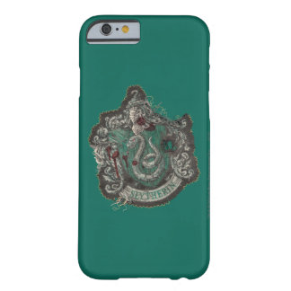 Slytherin Crest - Destroyed Barely There iPhone 6 Case