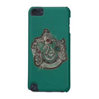 Slytherin Crest - Destroyed iPod Touch (5th Generation) Cover
