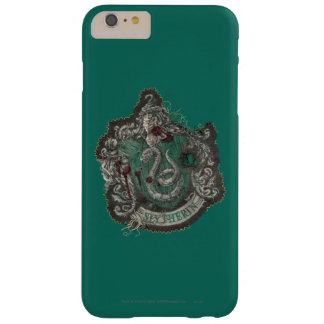 Slytherin Crest - Destroyed Barely There iPhone 6 Plus Case