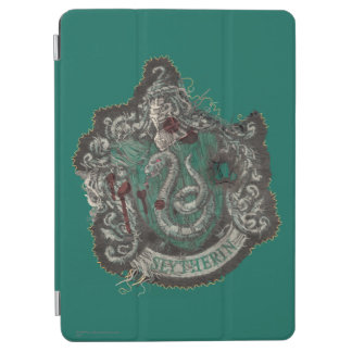 Slytherin Crest - Destroyed iPad Air Cover