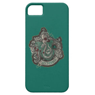 Slytherin Crest - Destroyed iPhone 5 Covers