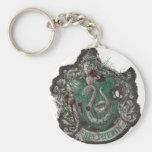 Slytherin Crest - Destroyed Keychain