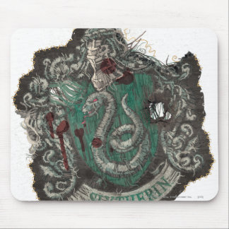 Slytherin Crest - Destroyed Mouse Pads