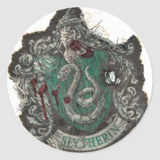 Slytherin Crest - Destroyed Stickers
