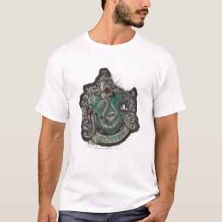 Slytherin Crest - Destroyed T-Shirt