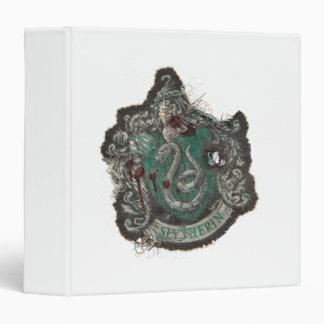 Slytherin Crest - Destroyed Vinyl Binder