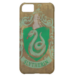 Slytherin Crest HPE6 Case For iPhone 5C