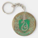 Slytherin Crest HPE6 Keychain