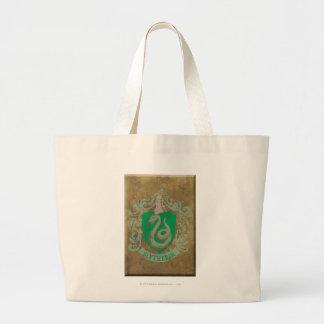 Slytherin Crest HPE6 Large Tote Bag